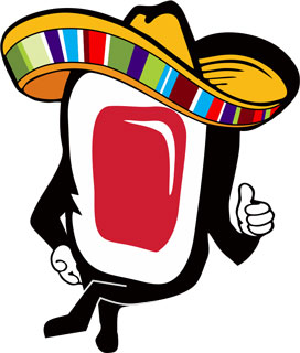 The Jaburritos Sushi Mascot